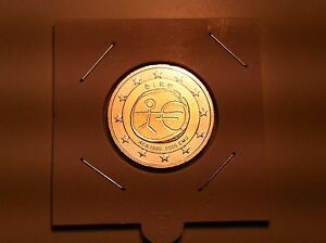 2 EURO IRLANDE 2009 EMU 10 ANS DE L'EURO COMMEMORATIVE NEUVE