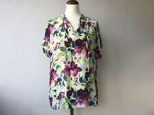 Friendtex Shirt Blusenshirt Gr. M bunt floraler Print Viskose NEU Bluse Damen
