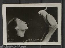 Jise Werner Vintage Movie Film Star Trading Photo Card