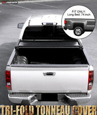 2004-2012 Colorado/Canyon Std/Ext Cab 6 Ft Short Bed Tri-Fold Soft Tonneau Cover