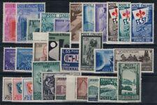 ITALIA REPUBBLICA 1951 Annata Completa 29v MNH**