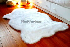 3 x 5 Top Seller Faux Fur Rug Nursery White Furry Baby Sheepskin Washable