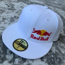 RED BULL ATHLETE ONLY HAT - SIZE 7 VERY RARE !!! WHITE