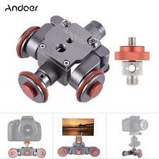 Electric Motorized Video Pulley Car Dolly Rolling Slider for Smartphones Cameras