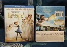 Leap Blu-ray Disc 2017 2-Disc Set** Elle Fanning Dance Ballet Movie**