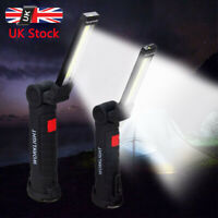 COB LED Light Rechargeable Magnetic Hanging Inspection Work Flashlight Light