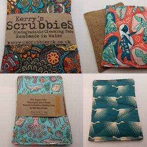 Scrubbies Plastic-Free Eco Un-Sponge 100% Biodegradable - MIX and MATCH Set of 2