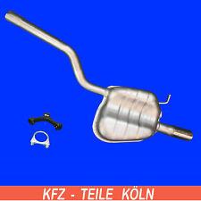 VW Jetta IV (162 ; 163) / 1.2 TSI Silenciador Silenciador Escape + Kit