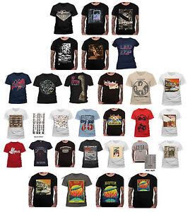 Led Zeppelin T Shirt Classic Rock Album Cover Tour Live Zoso OFFICIAL NEW