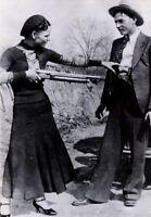 Vintage Bonnie & Clyde Photo 336 Bizarre Odd Strange