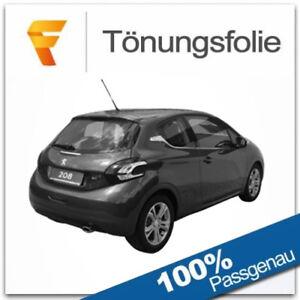 Passgenaue Tönungsfolie Peugeot 208 / 3 Türer