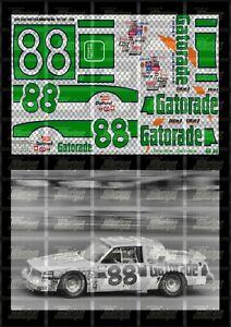 NASCAR 1/24 DECALS BA01 - BOBBY ALLISON 1982 CUP #88 GATORADE (DAYTONA 500 WIN)