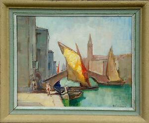 Knut Norman (1896-1977): SCENE FROM VENICE