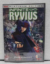 Infinite Ryvius Vol 4 Change of Command DVD Factory Sealed