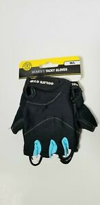 GOLDS GYM Womens Tacky Gloves  Ventilated Mesh Weight Lifting Size M/ L