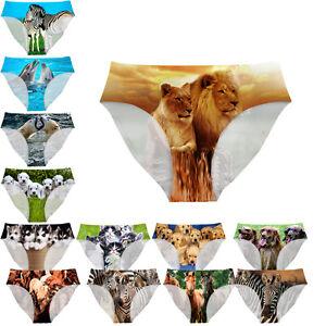 Sexy Women Underwear Animal Design Customized Briefs Girl Cool Knickers Lingerie