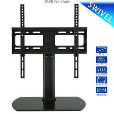 Universal Tabletop TV Stand with Swivel Mount for 27-55 inch TVs