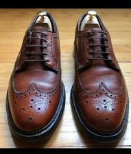Vintage BOSTONIAN Full Leather Wing-Tip Brogue Derby, Budapester Shoes