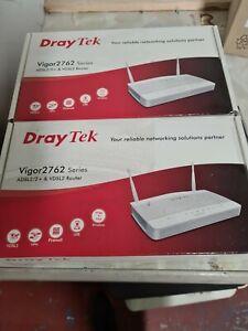 2 x Brand New Draytek vigor2762