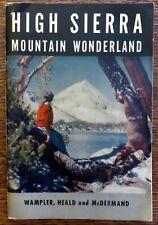 High Sierra Mountain Wonderland, by Joseph Wampler (vintage collectable)