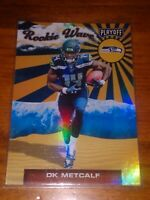 DK METCALF 2019 Panini Playoff Rookie Wave Foil RC Seattle Seahawks MINT