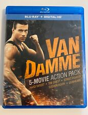 Van Damme 5-Movie Action Pack (Blu-ray Disc, 2014, 5-Disc Set)