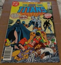 New Teen Titans 2 Vf 1st Deathstroke Newsstand Variant Dc Movie batman