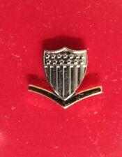 Uscg Us Coast Guard Reduced Size E-4 Po3 3Rd Cl Petty Officer Garrison Cap Badge