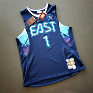 100% Authentic Allen Iverson Mitchell Ness 2009 All Star Jersey Size 48 XL Mens