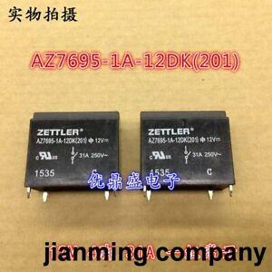 5pc  AZ7695-1A-12DK new bulk ZETTLER relay 12V 4 pin 31A a group of normally ope
