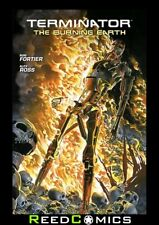 TERMINATOR THE BURNING EARTH GRAPHIC NOVEL New Paperback Collects 5 Part Series
