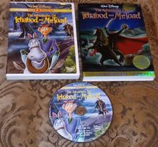THE ADVENTURES OF ICHABOD AND MR TOAD DISNEY GOLD CLASSIC COLLECTION DVD