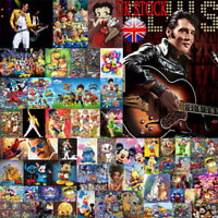 UK Cartoon Characters 5D Diamond Painting Full Drill Cross Arts Craft Mural Gift