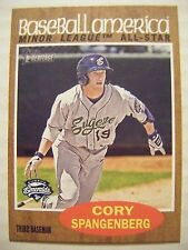 CORY SPANGENBERG SP 2011 Topps Heritage Minors Baseball America card #238 PADRES