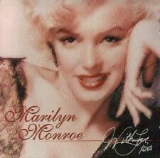 MARILYN MONROE Hollywood Star Actress Legend LOVE XOXO Original MUSIC CD New