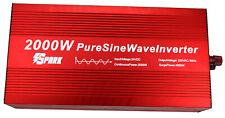 2000W (4000W Pico) DC 24V AC 240V onda senoidal pura energía inversor Máquina De Café