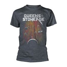 Queens Of The Stone Age 'Meteor Shower' Gray T shirt - NEW OFFICIAL