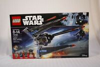 LEGO Star Wars 75185 Tracker 1 Emperor Palpatine NEW Factory Sealed (Retired)