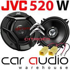 Citroen C3 2002-14 JVC 13cm 520 Watts 2 Way Front Door Car Speakers & Connectors