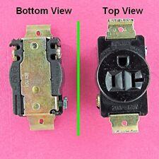 Single 3 Prong Plug Receptacle Outlet 20A 115 Volt AC 120V 125VAC Screw Terminal