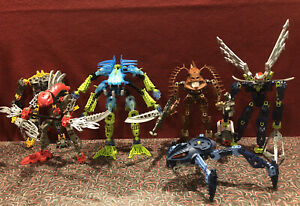 LEGO Bionicle Huge Incomplete Sets Lot 8935 8743 8904 8914 8730 8592 Rare Parts