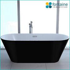Monroe Freestanding Bath Tub Bathtub Round Elegant Bathroom Black SALE 1700 NEW!