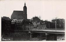 Penig Sachsen Brücke, Häuser Orig. Foto  Aufnahme