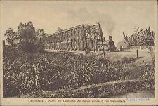 ANGOLA CATUMBELA PONTE DO CAMINHO DE FERRO SOBRE OR RIO CATUMBELA