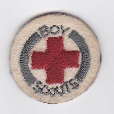 1927 BRITISH / UK SCOUTS - BOY SCOUT KHAKI FELT AMBULANCE Proficiency Badge