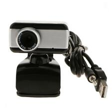 USB 1080P HD Webcam Camera Video w/ Built-in Microphone for Laptop Black