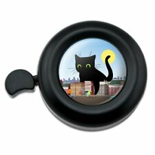 Giant Black Cat Playing with Cars Bicycle Handlebar Bike Bell
