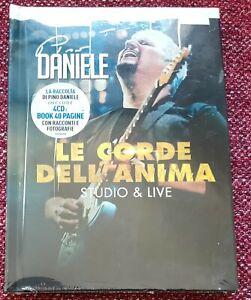PINO DANIELE BOX 4CD+BOOK LE CORDE DELL'ANIMA-STUDIO & LIVE - SIGILLATO - NO LP