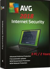 AVG Internet Security & Antivirus 2019 / 2 PC / 650 Day INSTANT DOWNLOAD