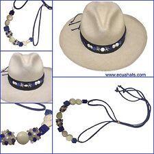 "Accesory for Genuine Montecristi Ecuador ""Panama Hat"" for Woman"